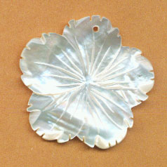 SHELL PENDANT50M FLOWER