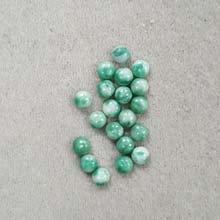 5MM ROUND CABOCHON CHINA JADE(20PCS/BAG)