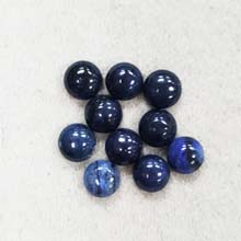8MM ROUND CABOCHON DUMORTIERITE(10PCS/BAG)
