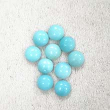 8MM ROUND CABOCHON AMAZONITE(10PCS/BAG)