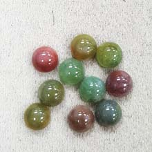 8MM ROUND CABOCHON FANCY JASPER(10PCS/BAG)