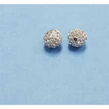 PAVE CRYSTAL 10MM CLEAR