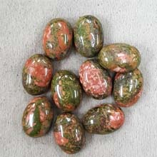 10X14 UNAKITE (10 PCS/BAG)