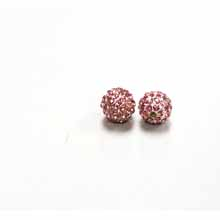 PAVE CRYSTAL 10MM LIGHT ROSE