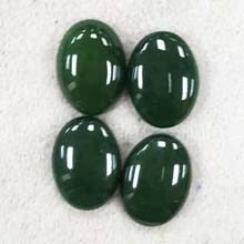 13X18 DYED GREEN JADE(6PCS/BAG)
