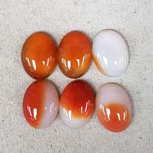 15X20 CARNELIAN NATURAL(6PCS/BAG)