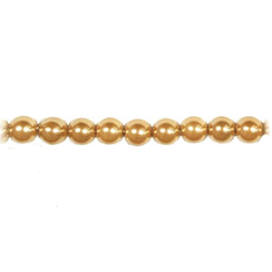 SHELL PEARL #208 06MM CHAMPAGNE