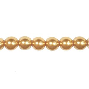 SHELL PEARL #208  10MM CHAMPAGNE