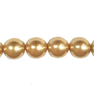 SHELL PEARL #208 18MM CHAMPAGNE