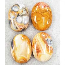 22X30 CRAZY LACE AGATE(4PCS/BAG)