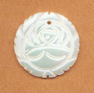 SHELL PENDANT FLOWER 20MM