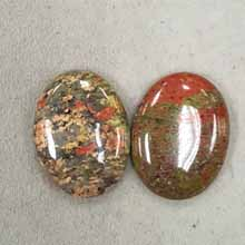 30X40 UNAKITE(2PCS/BAG)