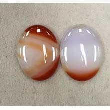 30X40 CARNELIAN NATURAL(2PCS/BAG)