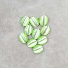 08X10 CAT'S EYE LIGHT GREEN (10 PCS/BAG)