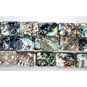 ABALONE RECTANGLE 18X25MM