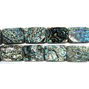 ABALONE RECTANGLE 22X30MM
