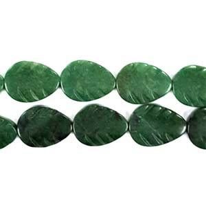 AFRICAN JADE LEAF 15X20MM