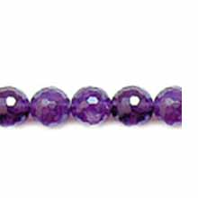 AMETHYST FACETED ROUND 12MM