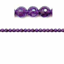 AMETHYST FACETED ROUND 04MM