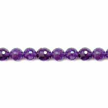 AMETHYST FACETED ROUND 08MM