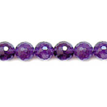 AMETHYST FACETED ROUND 10MM