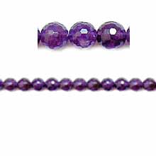 AMETHYST FACETED ROUND 06MM