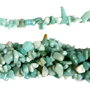 AMAZONITE CHIPS (5 STRING)