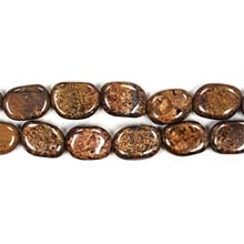 BRONZITE FREEFORM 10X14MM