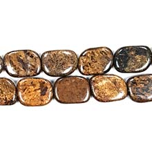 BRONZITE FREEFORM 15X20MM