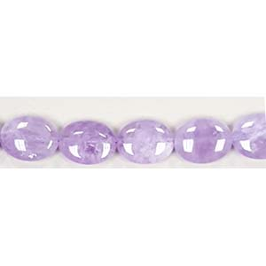 CAPE AMETHYST FLAT OVAL 12X16MM