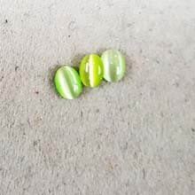 06X08 CATS EYE LIGHT GREEN (10 PCS /BAG)