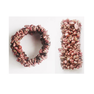 CHIPS BRACELET RHODONITE