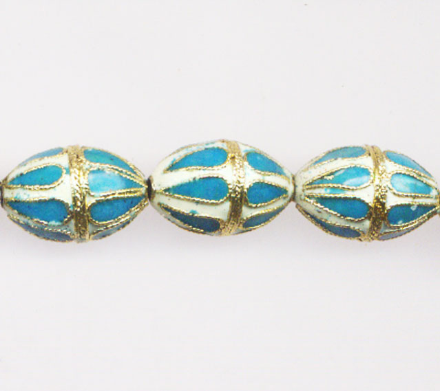 CLOISONNE DESIGN BEADS 06WH