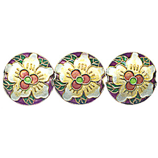 CLOISONNE DESIGN BEADS 10CPP