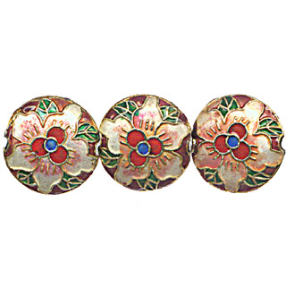 CLOISONNE DESIGN BEADS 10CRD