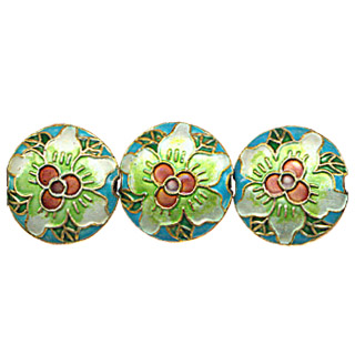 CLOISONNE DESIGN BEADS 10CTQ