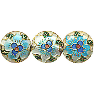 CLOISONNE DESIGN BEADS 10CWH