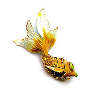 GOLDFISH PENDANT 045RT