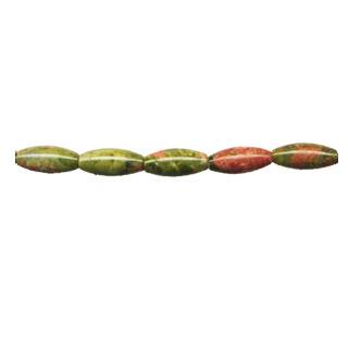 UNAKITE RICE 05X12MM