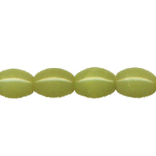 OLIVE JADE RICE 08X10MM