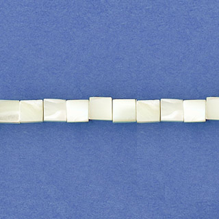 MOP(WHITE) SQUARE 03MM