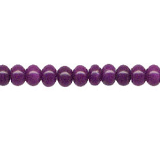 DYED JADE ROUNDELLE 08MM DARK PURPLE