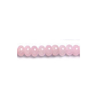ROSE QUARTZ ROUNDELLE 08MM