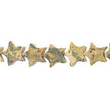 LEOPARD SKIN FLAT STAR 12MM