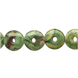 RHYOLITE LOOSE DONUTS 12MM