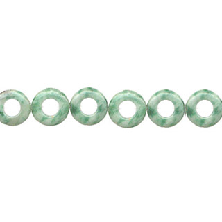 CHINA JADE DONUT 15MM