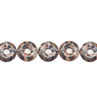 LEOPARD SKIN LOOSE DONUT 14MM