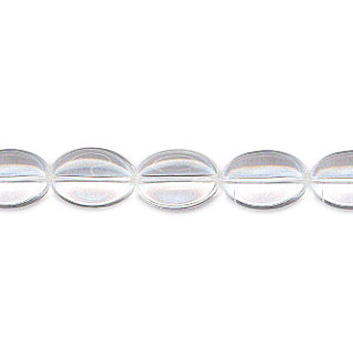 CRYSTAL FLAT OVAL 13X18MM
