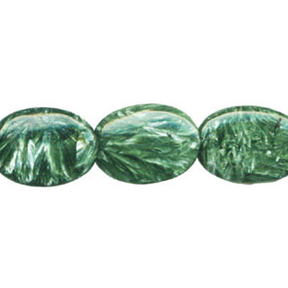 SERPHINITE FLAT OVAL 22X30MM