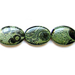 KAMBABA FLAT OVAL 25X35MM
